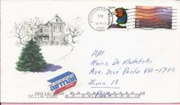 Air Mail, Binghamton, NY, 6.3.2001., United States, Letter - United States