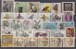 Bund Lot 8 Zuschlagmarken Gestempelt - Lots & Kiloware (max. 999 Stück)