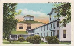 Indiana Winona Lake Inn Hotel 1950 Curteich