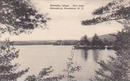 New York Adirondack Mountains Hiawatha Island Star Lake Albertyp