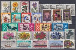 Bund Lot 10 Zuschlagmarken Gestempelt - Briefmarken