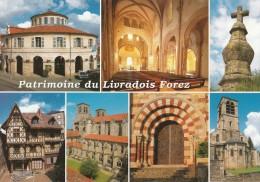 PATRIMOINE DU LIVRADOIS FOREZ AMBERT THIERS ARLANC LA CHAISE DIEU - France