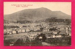 88 Vosges Saint Dié Vue Générale, La Guerre Dans Les Vosges, 1918 - Saint Die