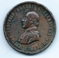1881 FRANCIA XXXI MEDAGLIA ALOYSIUS NAZARI GALBIANA - Weight 30 Gr - Non Classés