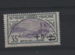 LOT 592 - FRANCE N° 166 * Charnières Légères ORPHELINS DE GUERRE   - Cote 16.50 € - France