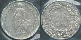 1914 SVIZZERA SUSSE SWITZERLAND 2FR - Suisse