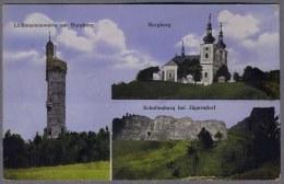 Lichtensteinwarte  Burgberg  Schellenburg  B.  Jägerndorf  1916y.   B141 - Unclassified
