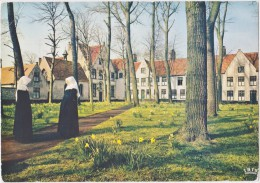 Cpsm BRUGGE De Brugse Wijngaard- Le Monastère De La Vigne (scan Dos Timbres) - Brugge