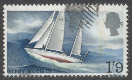 Great Britain. 1967 Sir Francis Chichester's World Voyage. 1/9 Used SG 751 - 1952-.... (Elizabeth II)