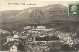 38  ST  LAURENT  DU  PONT     VUE  GENERALE - Saint-Laurent-du-Pont