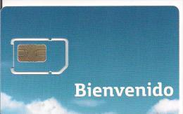 GSM BIENVENIDO MOVISTAR  SPAIN - Tarjetas Telefónicas