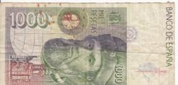 ESPAGNE - Billet De 1000 Pesetas - Espagne