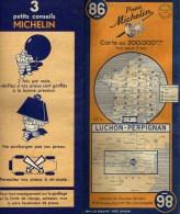 CARTE ROUTIERE MICHELIN N°86  ANNEE 1948 - Cartes Routières