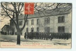 Chasseurs Alpins - Caserne Du 157è à Jausiers - Revue De Mobilisation - 2 Scans - Casernes