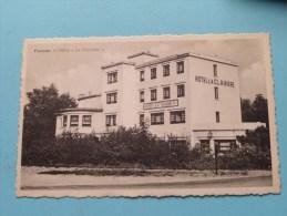 """Fisenne Hôtel """" La CLAIRIERE """" ( ) Anno 19?? ( Zie Foto Voor Details ) - Erezée"""