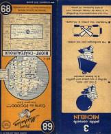 CARTE ROUTIERE MICHELIN N°68  ANNEE 1948 - Cartes Routières