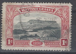 Guyana U 088 (o) Monte. 1898 - British Guiana (...-1966)