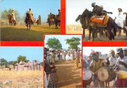AFRIQUE NOIRE - BENIN : Fête BARIBA - BANIKOARA - TATA SOMBA - CPSM CPM 1985 - ( Black Africa ) - Benin