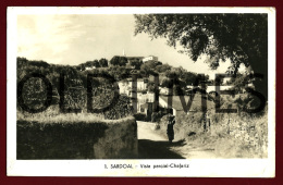 SARDOAL - VISTA PARCIAL - CHAFARIZ - 1950 REAL PHOTO PC - Santarem