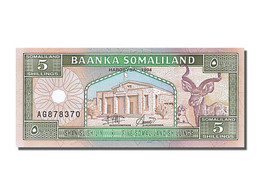 Somaliland, 5 Shillings, Type 1994-1996 - Somalia