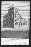 Post Office Building Ottumwa IA Used C1905s STK#93430 - Postal Services