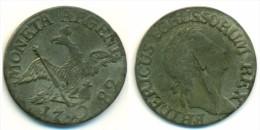 1782 Schlesien 3 Kreuzer Coin - [ 1] …-1871 : German States