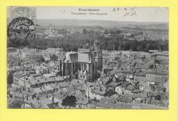 CPA 54 TOUL Vue Générale Et Saint Gengoult (Sup Oblit) TOP - Toul