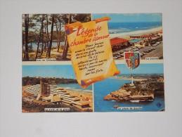 Carte Postale Ancienne : ANGLET : Légende De La Chambre D'Amour - Anglet