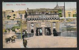 Royal Gate Tunnel Through Stone MALTA Unused C1910s STK#93446 - Malta