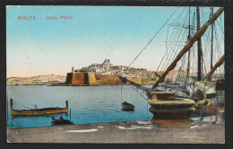 View From Port To Island City MALTA Unused C1910s STK#93441 - Malta