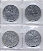 1 Lire - Arancia - 1948 -1949 - Quattro Pezzi - 1946-… : República