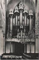 NL.- Dordrecht. Orgel. Interieur Grote Kerk. 2 Scans - Dordrecht