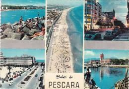 Italy Saluti da Pescara Panorama Muli View 1967