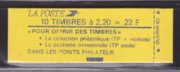= Type Liberté De Delacroix 2.20fr Rouge Carnet  X 10  N° 2376-C4 Avec Date 5. 30.7.8-? - Usage Courant