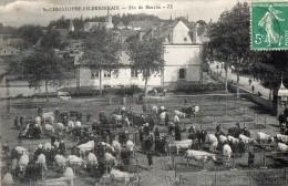 St-CHRISTOPHE-en-BRIONNAIS --Fin De Marché - Other Municipalities
