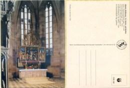 Ak Deutschland - Münster Heilsbronn - St. Marien - Und Jakobus - Innenaufnahme - Eglises Et Cathédrales