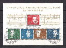 Germania Federale Usati Di Qualità: BF  N. 1  Con Annullo I° Giorno - [7] République Fédérale