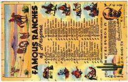 Famous Ranches Of Arizona, List Of Brands - Estados Unidos