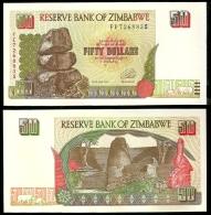 Zimbabwe 50 Dollars 1994 P 8 UNC ( Zimbabue  ) - Zimbabwe