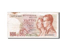 Belgique, 50 Francs, Type Roi Bauduin I Et La Reine Fabiola - Bankbiljetten