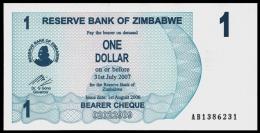 Zimbabwe 1 Dollar 2006 P 37 UNC  ( Zimbabue  ) - Zimbabwe