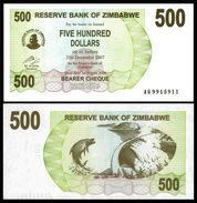 Zimbabwe 500 Dollars 2006 P 43 UNC ( Zimbabue  ) - Zimbabwe