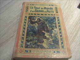 Bob Morane : Lecture De Jeunesse D'henri Vernes 1 Le Tour Du Monde D'un Gamin De Paris Tallandier - Bob Morane