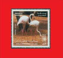 Bahrain 2003,  Flamant Rose / Greater Flamingo / Oiseau Bird MNH ** - Flamingos