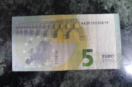 N009 - EXTREMELY RARE - 5 EURO AUSTRIA N0009J3 Draghi - EURO