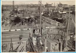 Gdynia, Gdingen. Shipbuilding Yard 2.  12,5 X 17,8 Cm - Objetos