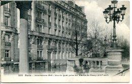 75016 PARIS - Inondations 1910, Vue Prise Du Viaduc De Passy - Arrondissement: 16