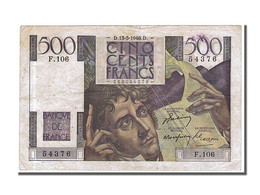 500 Francs, Type Chateaubriand - 1871-1952 Circulated During XXth