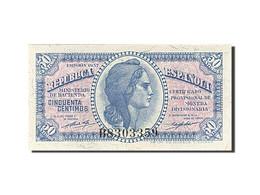 Espagne, 50 Centimos, Type 1937-1938 - Bankbiljetten