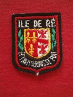 Petit ECUSSON  PATCH BRODE ILE DE RE - Blazoenen (textiel)